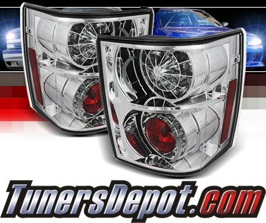 Sonar® LED Tail Lights (Chrome) - 03-05 Land Rover Range Rover HSE