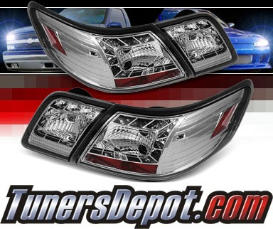 Sonar® LED Tail Lights (Chrome) - 07-09 Toyota Camry