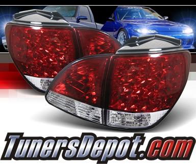 sonar led tail lights red clear 01 03 lexus rx300 alt. Black Bedroom Furniture Sets. Home Design Ideas