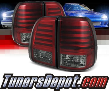 Sonar® LED Tail Lights (Red/Smoke) - 03-07 Lexus LX470