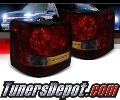 Sonar® LED Tail Lights (Red/Smoke) - 06-09 Land Rover Range Rover Sport