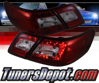 Sonar® LED Tail Lights (Red/Smoke) - 07-09 Toyota Camry
