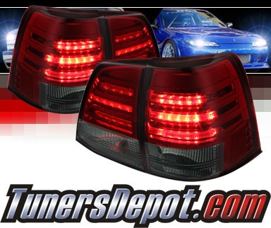 Sonar® LED Tail Lights (Red/Smoke) - 08-11 Toyota Land Cruiser