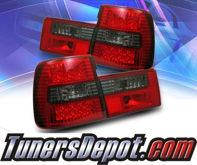 SonarR LED Tail Lights Red Smoke