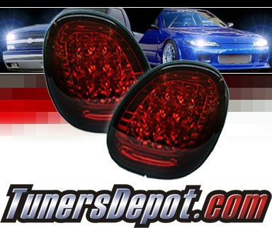 Sonar® LED Tail Lights (Red/Smoke) - 98-05 Lexus GS400 (Trunk)