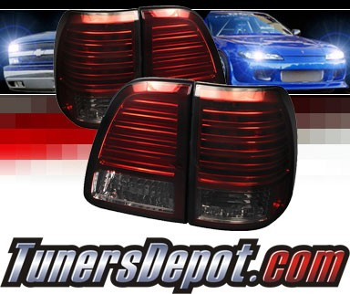Sonar® LED Tail Lights (Red/Smoke) - 98-05 Toyota Land Cruiser