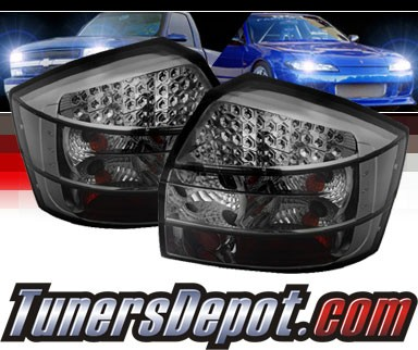 Sonar® LED Tail Lights (Smoke) - 02-05 Audi A4