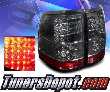 Sonar® LED Tail Lights (Smoke) - 02-05 Mercury Mountaineer