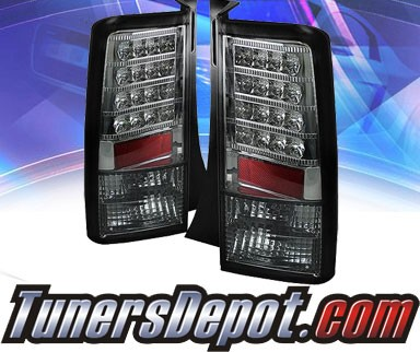 Sonar® LED Tail Lights (Smoke) - 03-07 Scion xB