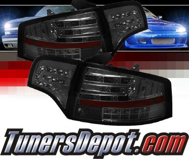 Sonar® LED Tail Lights (Smoke) - 06-08 Audi A4 (Gen 2)