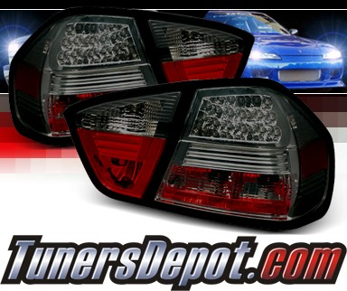 Sonar Led Tail Lights Smoke Bmw I E Dr Sedan Image Part Yd Alt Be Led Sm M
