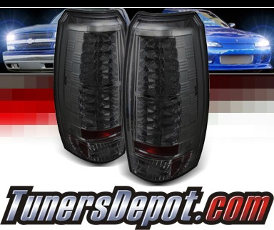 Sonar® LED Tail Lights (Smoke) - 07-14 Chevy Avalanche