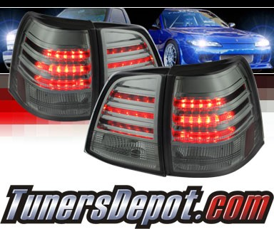 Sonar® LED Tail Lights (Smoke) - 08-11 Toyota Land Cruiser