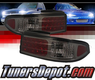 Sonar® LED Tail Lights (Smoke) - 95-96 Nissan 240SX