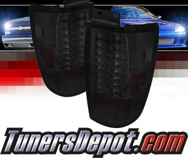 Sonar® LED Tail Lights (Smoke) - 97-02 Ford Expedition (Gen 2)
