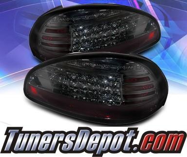Sonar Led Tail Lights Smoke 97 03 Pontiac Grand Prix Alt Yd Pgp97 Sm