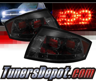 Sonar® LED Tail Lights (Smoke) - 99-06 Audi TT