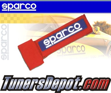 Sparco® Seat Belt Shoulder Pad - 3&quto; NOMEX (Red)