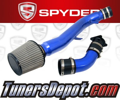 Spyder® Cold Air Intake System (Blue) - 03-06 Infiniti G35 3.5L V6 4dr Sedan (AT)