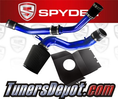 Spyder® Cold Air Intake System (Blue) - 08-15 Mitsubishi Lancer Turbo 2.0L 4cyl Evolution X Evo 10 (With Upper Intercooler Piping)