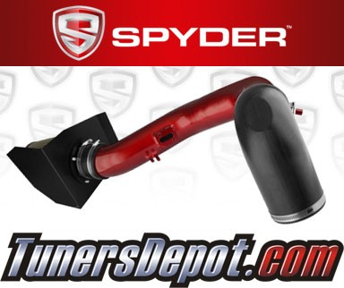 Spyder® Cold Air Intake System (Red) - 04-08 Ford F150 F-150 5.4L V8