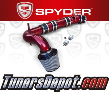 Spyder® Cold Air Intake System (Red) - 04-11 Mazda RX8 RX-8 1.3L