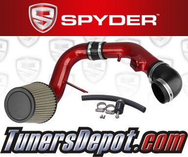 Spyder® Cold Air Intake System (Red) - 05-08 Chevy Cobalt SS 2.4L 4cyl