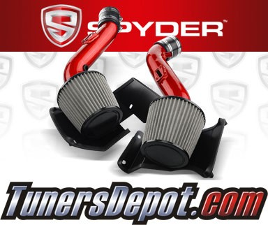 Spyder® Cold Air Intake System (Red) - 07-09 Nissan 350Z V6 3.5L