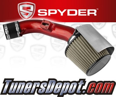 Spyder® Cold Air Intake System (Red) - 07-12 Nissan Altima 2.5L 4cyl