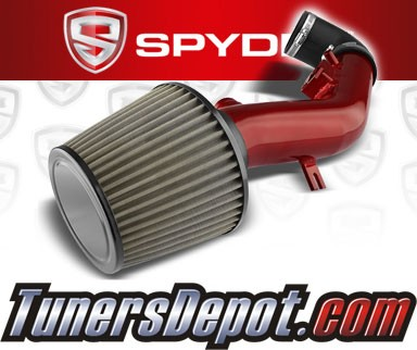 Spyder® Cold Air Intake System (Red) - 08-12 Chevy Malibu 2.4L 4cyl (with Air Pump)