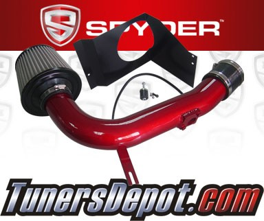 Spyder® Cold Air Intake System (Red) - 08-14 Subaru Impreza WRX/Sti Turbo 2.5L 4cyl