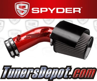 Spyder® Cold Air Intake System (Red) - 09-16 Nissan Maxima 3.5L V6