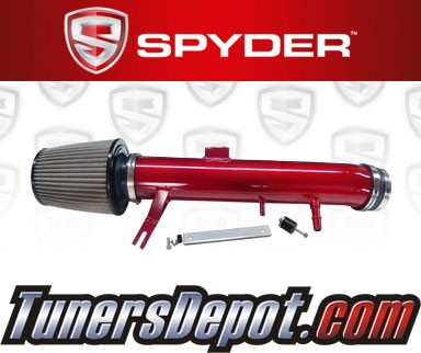 Spyder® Cold Air Intake System (Red) - 11-14 Ford Mustang 3.7L V6