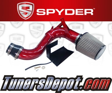 Spyder® Cold Air Intake System (Red) - 11-14 Hyundai Sonata Turbo 2.0L 4cyl