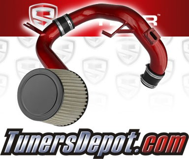 Spyder® Cold Air Intake System (Red) - 12-14 Honda Civic 1.8L 4cyl