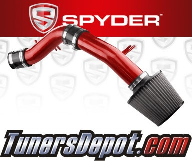 Spyder® Cold Air Intake System (Red) - 12-16 Hyundai Accent 1.6L 4cyl