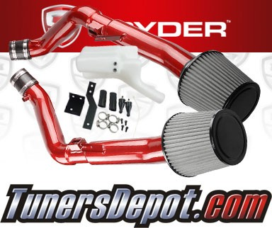Spyder® Cold Air Intake System (Red) - 14-15 Infiniti Q60 3.7L V6 (exc IPL)