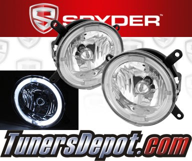 Spyder® Halo Fog Lights - 05-09 Ford Mustang GT V8