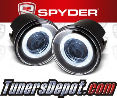Spyder® Halo Projector Fog Lights (Clear) - 08-10 Doge Caliber SRT4 SRT-4