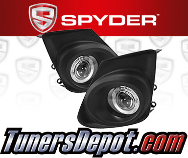 Spyder® Halo Projector Fog Lights (Clear) -  11-13 Toyota Corolla