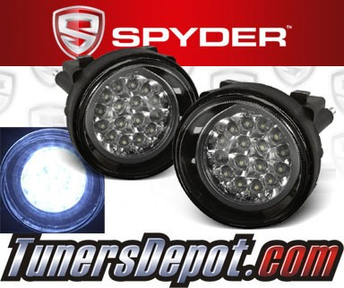 Spyder® LED Fog Lights - 03-05 Dodge Neon
