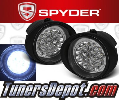 Spyder® LED Fog Lights - 03-06 Infiniti FX45 FX-45