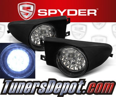 Spyder® LED Fog Lights - 97-00 BMW 528i 4dr E39 (Incl. Wagon)