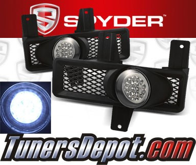 Spyder® LED Fog Lights - 97-98 Lincoln Navigator