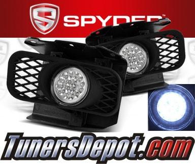 spyder led fog lights 99 03 ford f150 f 150 fl led. Black Bedroom Furniture Sets. Home Design Ideas