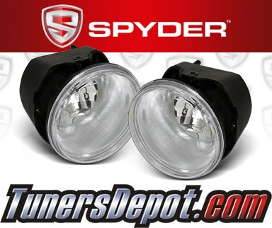Spyder® OEM Fog Lights (Clear) - 05-10 Chrysler 300C (w/o Washer)
