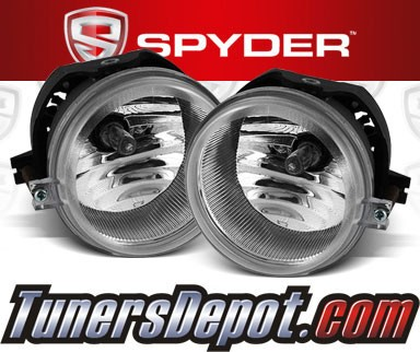 Spyder® OEM Fog Lights (Clear) - 07-10 Jeep Compass