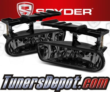 Spyder® OEM Fog Lights (Smoke) - 99-02 Chevy Silverado (Factory Style)