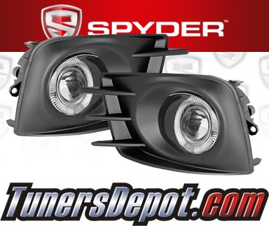 Spyder® Projector Fog Lights (Clear) - 11-13 Scion tC
