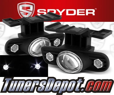 Spyder® Projector Fog Lights (Clear) - 99-02 Chevy Silverado